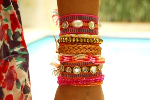 pulseiras small fashion diary